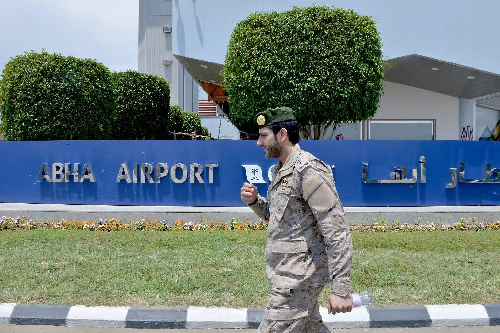 Abha airport lies just 110 kilometres (70 miles) from the Yemeni border
