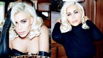 Kim Kardashian as Blonde Bombshell Marilyn Monroe for VOGUE Brazil