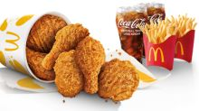 Chicken McCrispy to be permanently available at McDonald's from 1 July