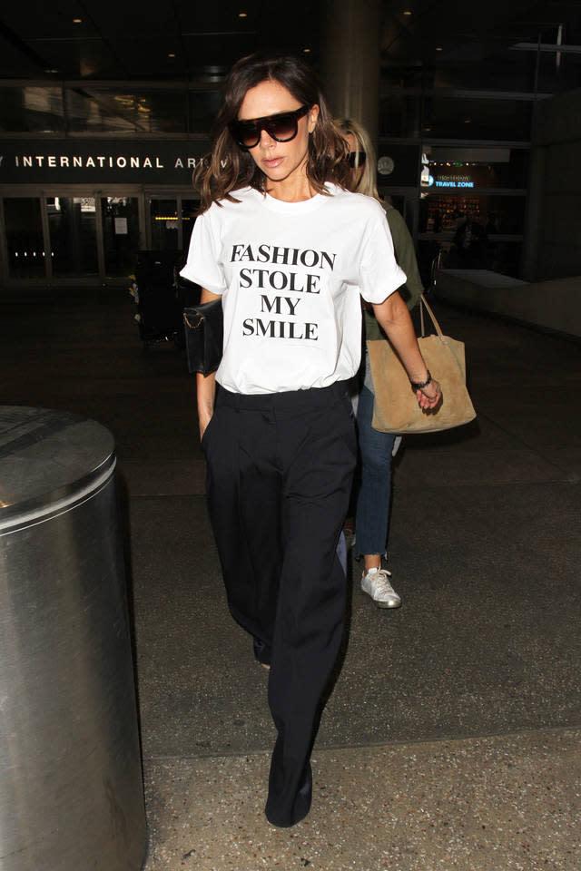 Victoria Beckham wearing a