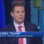 Eric Trump: My dad's not flip-flopping on immigration
