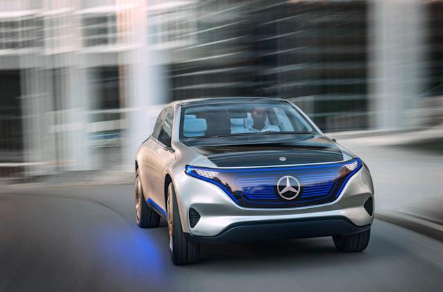 Daimler is investing $735 million in China's EV infrastructure