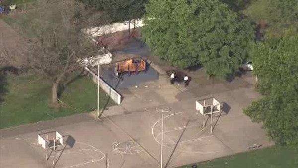 Shooting at Southwest Philadelphia playground, 1 injured