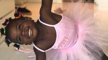 Giovanna Ewbank encanta seguidores com foto fofa de Titi vestida de bailarina