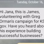 Political Campaigns Turn to Text Messaging to Get Your Attention