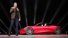 Tesla Roadster: Elon Musk unveils 'fastest production car ever' in shock announcement