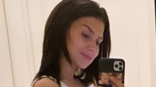 Pregnant Hilaria Baldwin shows off her baby bump in new photo