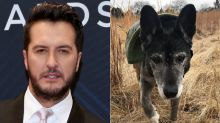 Luke Bryan's 18-Year-Old Rescue Dog, Poochie, Dies Just 2 Weeks After Adoption