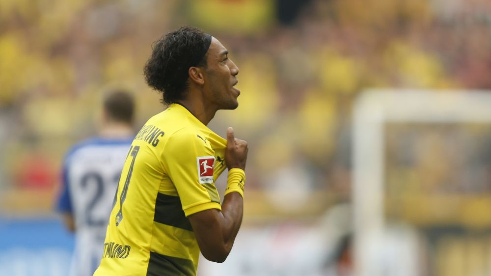 BVB-Star Pierre-Emerick Aubameyang: Habe mich mit PSG-Boss Nasser Al Khelaifi getroffen