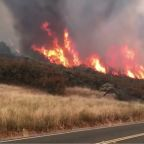 California Governor Declares Emergency as Wildfires Threaten Hundreds of Homes