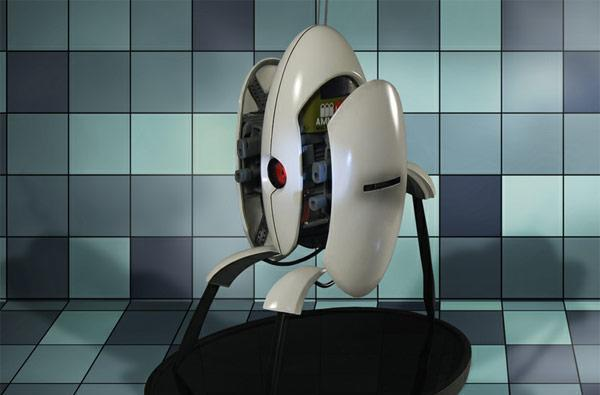 Licensed Portal 2 turret replica to arrive later this year, leave ammo at home