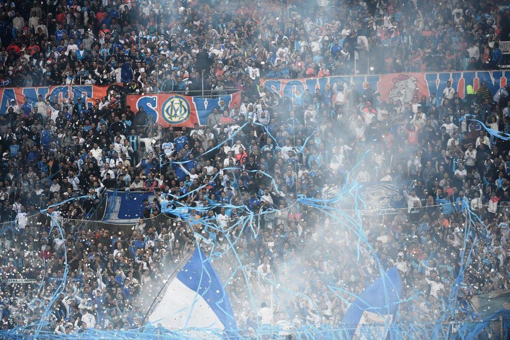 Ligue 1: le virage Sud du Vélodrome sanctionné