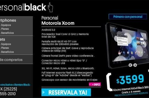 Motorola Xoom and Atrix shipping to Latin America, get your Honeycomb on pre-order