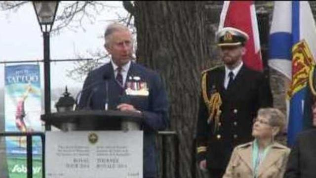 Prince of Wales and Duchess of Cornwall Visit Nova Scotia