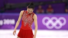 Mirai Nagasu didn't fall on her triple axel but it would've been better if she had