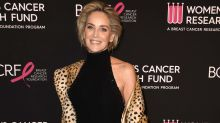 60-year-old Sharon Stone turns heads in cheetah print at star-studded gala