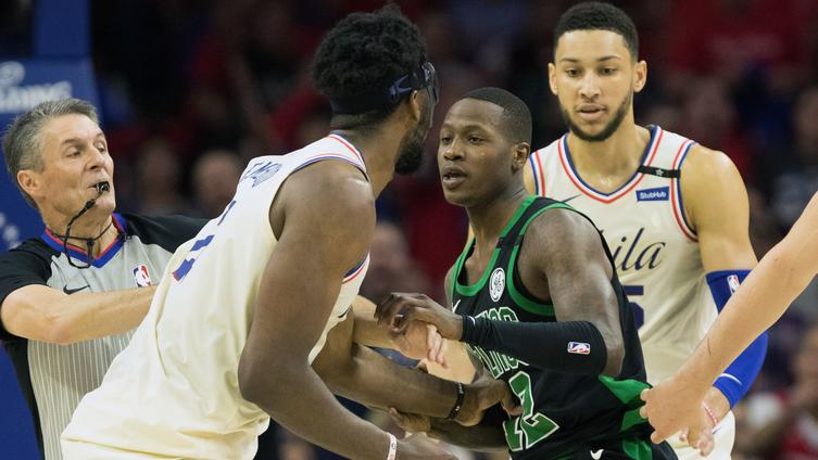 Terry Rozier takes shot at