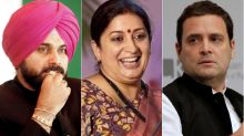 Smriti Irani Clean Bowls Navjot Sidhu; Victory Over Rahul Gandhi Makes #SidhuQuitPolitics Trend On Twitter, Reminding Him To Keep His Word