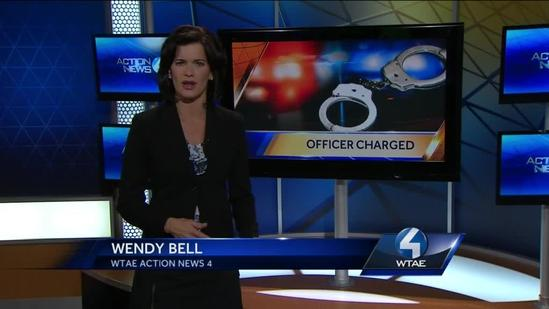 Police officer charged with assaulting handcuffed suspect
