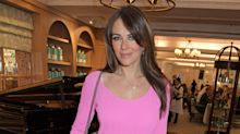 Liz Hurley reveals she has finally washed her hair and put on make-up after 11 days caring for vulnerable family