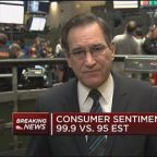 Consumer sentiment index at 99.9 in January