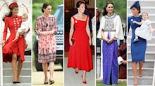 Royals on tour: The Duchess of Cambridge's best work trip outfits