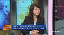 'Horrible' results for Cathay Pacific?