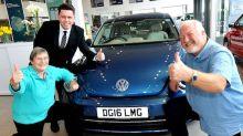 Bug-mad motorist picks up 11th Volkswagen Beetle