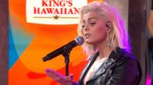 Bebe Rexha sings 'In the Name of Love' in candid post-'GMA' performance