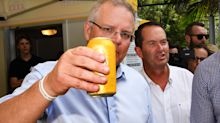 Someone just paid $10,200 to have a beer with Scott Morrison