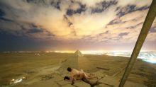 Sesso sulla piramide di Cheope, la foto che indigna l'Egitto