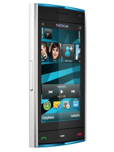 Nokia's X6 follows the 5800's footsteps, while the X3 brings Ovi Store to Series 40