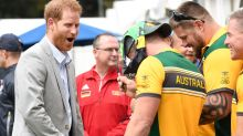 Aussie athlete shocks Prince Harry with hilarious request