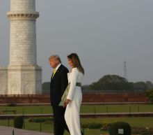 President Trump, first lady visit Taj Mahal in India