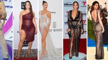 The 38 Most Naked Celebrity Outfits Of 2017