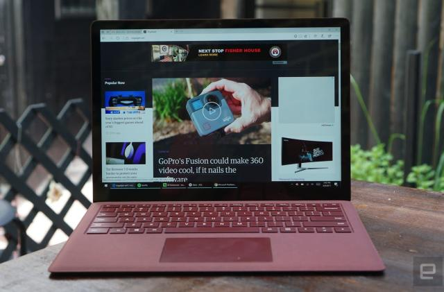 The Surface Laptop is the pinnacle of design