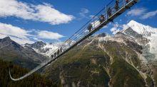全球最高最長行人吊橋 關閉7年後重開