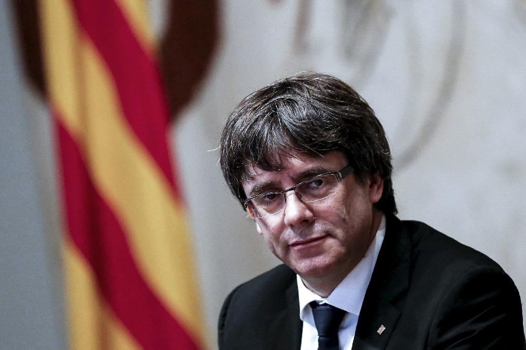 The separatist party behind Catalonia's deposed president Carles Puigdemont is determined to re-elect him remotely as the region's leader, even though he is in Belgian exile and Madrid has warned against such a move