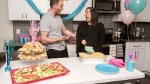 Villa Italian Kitchen Now Offering Gender Reveal Lasagne