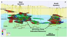 Tinka reports a substantial increase in zinc and tin mineral resources at Ayawilca