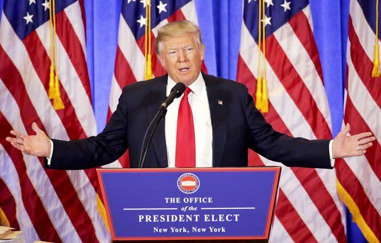 Wettquote Trump