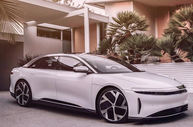 Lucid Motors is going public before it starts selling EVs