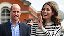 Kate and William team up with celebrities to go head-to-head in sailing regatta