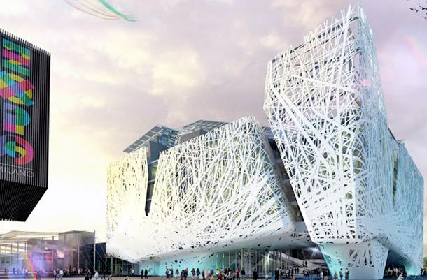 Milan building will pioneer smog-eating cement