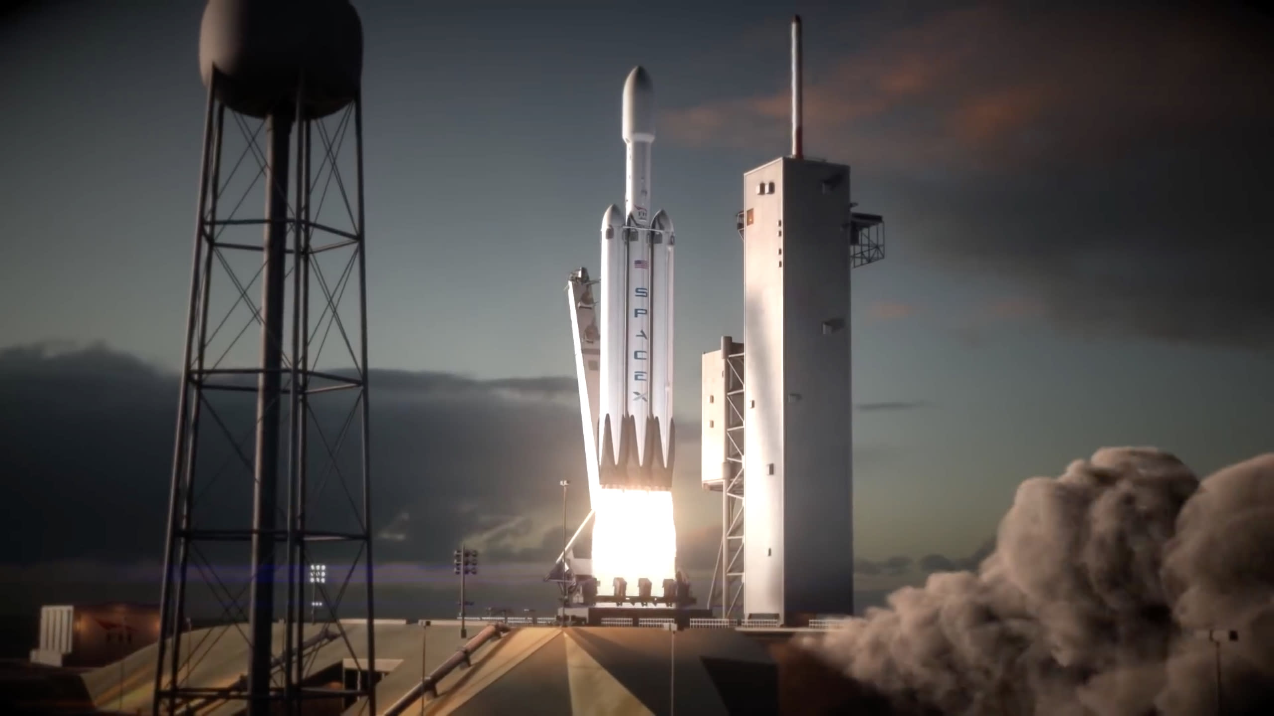 elon musk spacex may launch its biggest and most powerful rocket in 3 months
