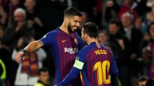 Suárez se muestra orgulloso de haber triunfado con Messi en una emotiva despedida del Barça