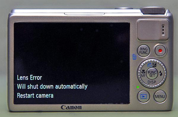Canon confirms PowerShot S100 lens error, offers free repair for affected cams