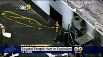 9 Injured In Explosion At La Habra Industrial Complex