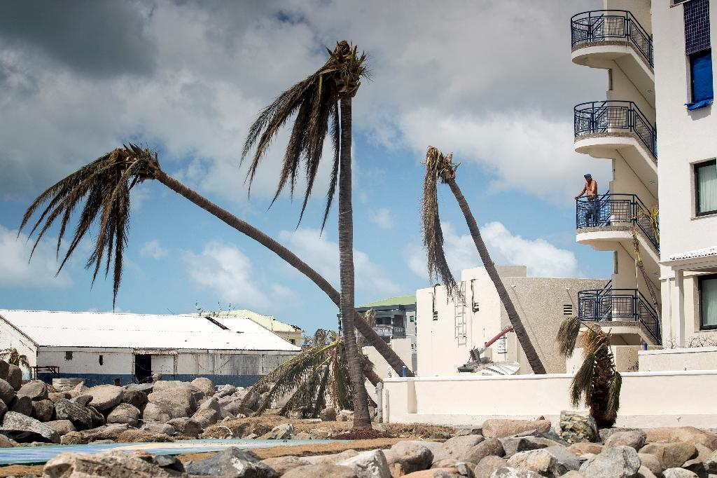 Dutch troops have been deployed on the devastated tourist hotspot of St Martin, where 70 percent of homes have been destroyed or badly damaged by Hurricane Irma (AFP Photo/Gerben Van Es)