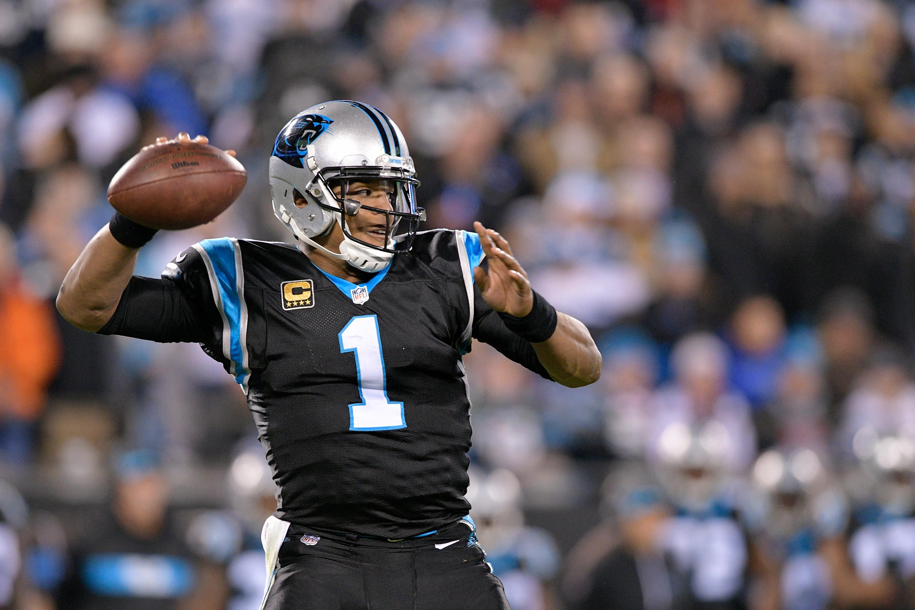 Cam Newton trash talk backfires when he backs it up with costly interception